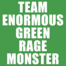 Team Enormous Green Rage Monster by qushido