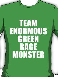 Team Enormous Green Rage Monster T-Shirt