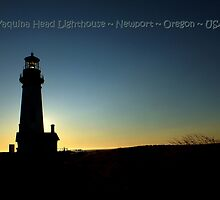 PostCard Extravaganza: Yaquina Head Lighthouse by artisandelimage