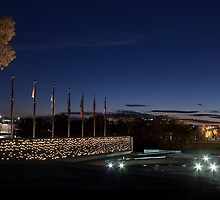 National Police Memorial - Canberra by Paul Dean