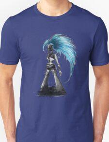 Rainbow Punk: Cybernetic Blue Unisex T-Shirt