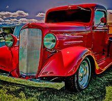 Red '36 Chev by Steve Walser