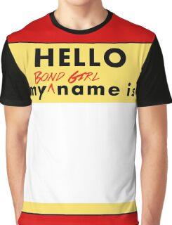 Bond Girl Badge Graphic T-Shirt