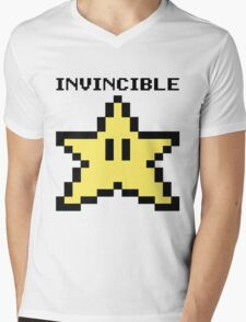 Invincible!! Mens V-Neck T-Shirt