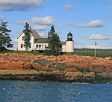 Winter Harbor Lighthouse by Jack Ryan