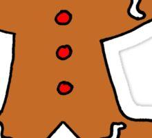 Gary The Gingerbread Man Sticker
