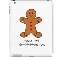 Gary The Gingerbread Man iPad Case/Skin