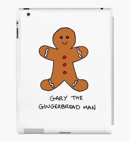 Gary The Gingerbread Man iPad Case/Skin