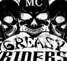 Greasy Riders Motorcycle Club Sticker