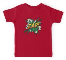 Comic Book ZAP! Kids Tee