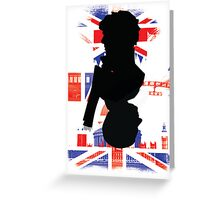 Sherlock and John Card Greeting Card