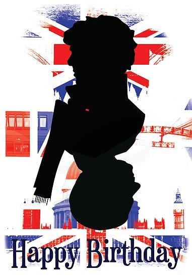 Sherlock and John Card - Birthday by KitsuneDesigns