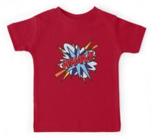 Comic Book WHAM! Kids Tee