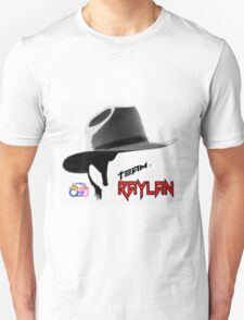 Team Raylan Black with red copy Unisex T-Shirt