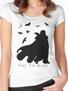 Take The Black Women's Fitted Scoop T-Shirt