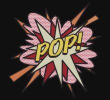 Comic Book POP! Kids Tee