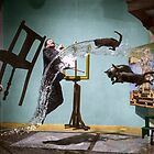 Dali Atomicus - by Philippe Halsman - colored by Henri Ton