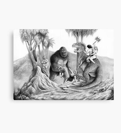 Clash of the Titans Canvas Print