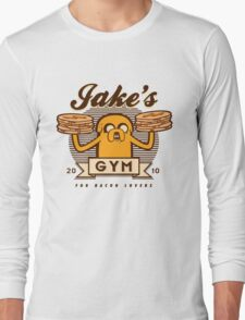 Bacon lovers gym Long Sleeve T-Shirt