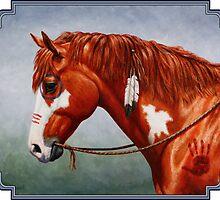 Native American War Horse by csforest