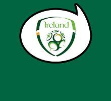 Ireland Soccer / Football Fan Shirt / Sticker Womens Fitted T-Shirt