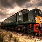 The BR class 40 by Rob Hawkins