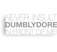 Dumblydore Canvas Print