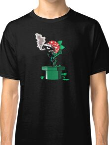 Piranha Bites The Bullet (Black Shirt Only) Classic T-Shirt