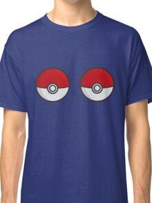 POKEBOOBS - Ladies Pokeball Shirt Classic T-Shirt