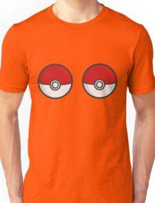 POKEBOOBS - Ladies Pokeball Shirt Unisex T-Shirt