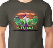 Oysters In A Half shell Alternate Unisex T-Shirt