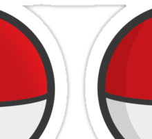 POKEBOOBS - Ladies Pokeball Shirt Sticker