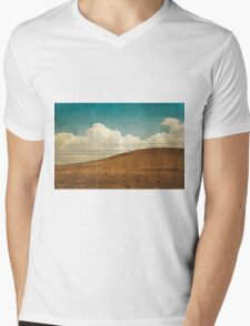 Parallel Mens V-Neck T-Shirt