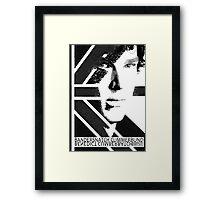 BANDERSNATCH CUMMERBUND (poster) Framed Print