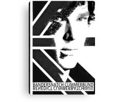 BANDERSNATCH CUMMERBUND (poster) Canvas Print