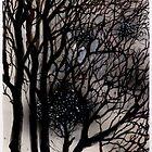 Black twigs by lillo
