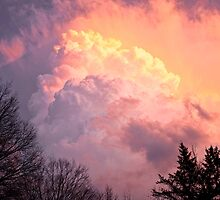 Storm Cloud moving in on West Michigan  by Randall Nyhof