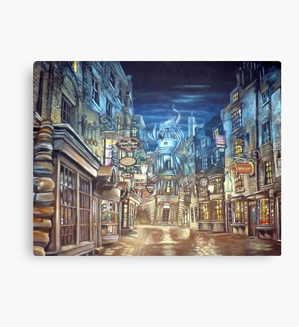 Diagon Alley  Canvas Print