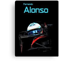 Fernando Alonso 2015 Canvas Print