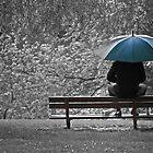 lunch break under the rain by edozollo