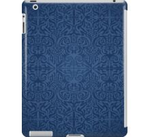 Etnic Pattern Blue iPad Case/Skin