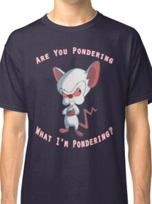Pinky and The Brain - Pondering Classic T-Shirt