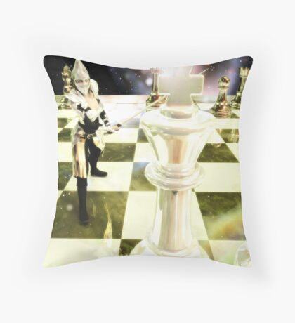 Game For Throne Throw Pillow