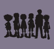 All leaders Digimon T-Shirt