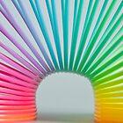 Rainbow Slinky 2 by Steve Purnell