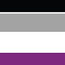 Asexual Pride Flag by ShowYourPRIDE