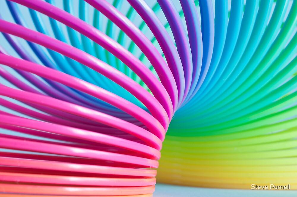 Rainbow Slinky 3 by Steve Purnell