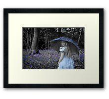 Blue Belle Framed Print