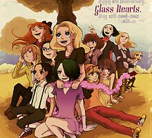 Glass Hearts Anniversary 6 Illust. by thestarsamurai