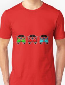 VW Camper Van Threesome T-Shirt